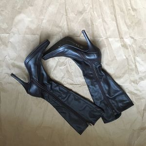CHINESE LAUNDRY Leather Boots 6.5